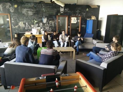 Echanges d'expériences entre Ingénieurs sans frontières Strasbourg, Besançon et Nancy avant le marché de Noël