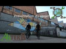 """Embedded thumbnail for Présentation du projet """"Alterr : aventure low tech en deux roues"""""""