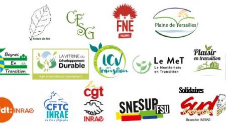 Logos des organisations signataires