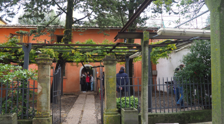 La Coeli Aula, lieu des Rencontres Nationales d'Ingegneria senza frontiera Italia 2019 dans la campagne toscane.