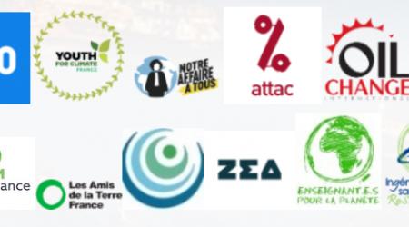Logos des organisations porteuses de la pétition